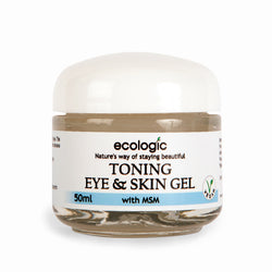 Ecologic Toning Eye & Skin Gel - 50ml