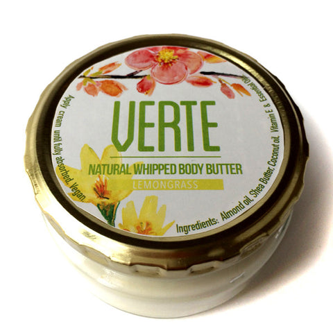 Verte Whipped Body Butter - Lemongrass 220ml
