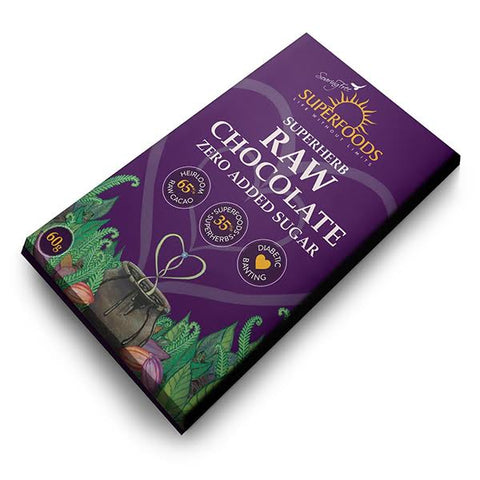 Superfoods Raw Chocolate Zero Sugar - 50g