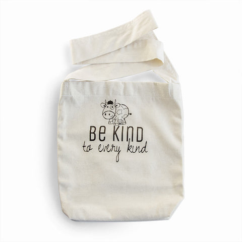 Handmade Sling Bag - Be kind to every kind