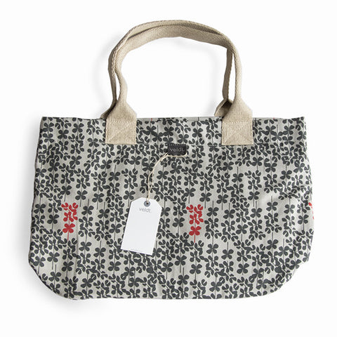 Veldt Hemp Canvas Slim Tote - Acacia Forest