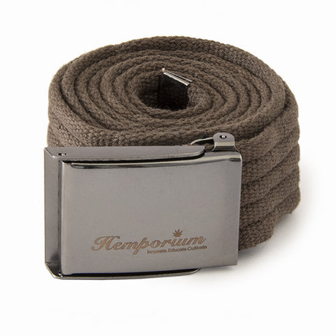 Hemp Belt - Khaki