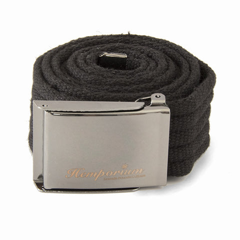 Hemp Belt - Black