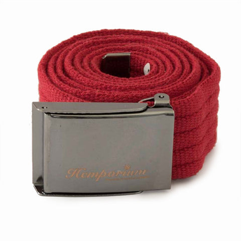 Hemp Belt - Red