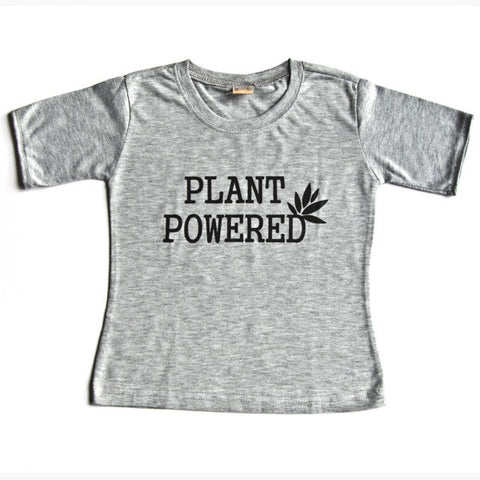Kid's T shirts - Plant Powered