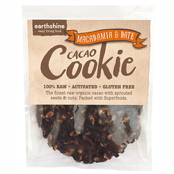 Cacao cookie – Macadamia and Date 35g