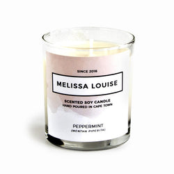 Melissa Louise Soy Massage Candle - Peppermint