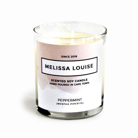 Melissa Louise Soy Massage Candle - Peppermint - SALE