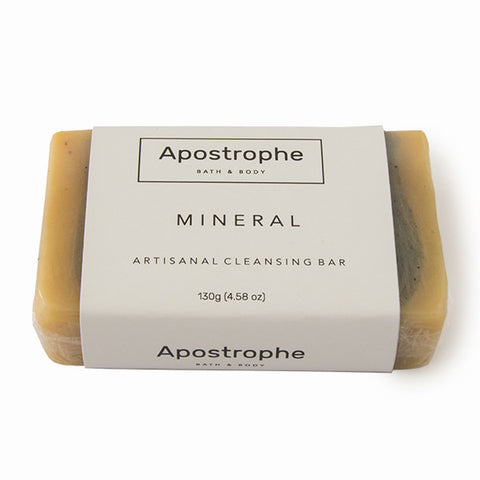 Apostrophe Soap - Mineral - 130g