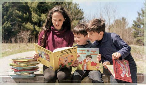 kids reading children's books