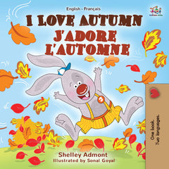 french bilingual book for kids seasons