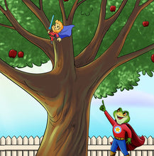 Chinese-Mandarin-kids-frog-book-Being-a-superhero-page12