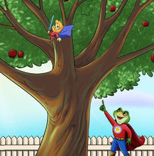 Bilingual-English-Punjabi-Gurmukhi-children's-book-Being-a-superhero-page12