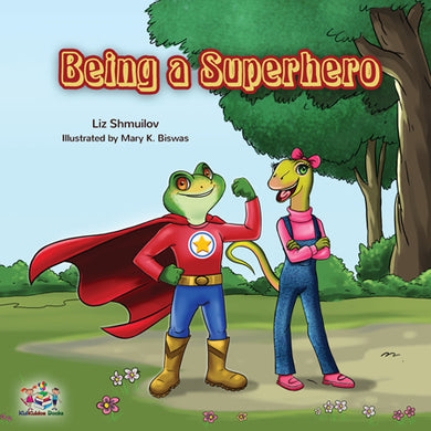 Being-a-Superhero-childrens-bedtime-story-english-cover
