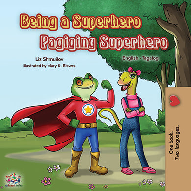 Bilingual-English-Tagalog-children_s-book-Being-a-superhero-cover