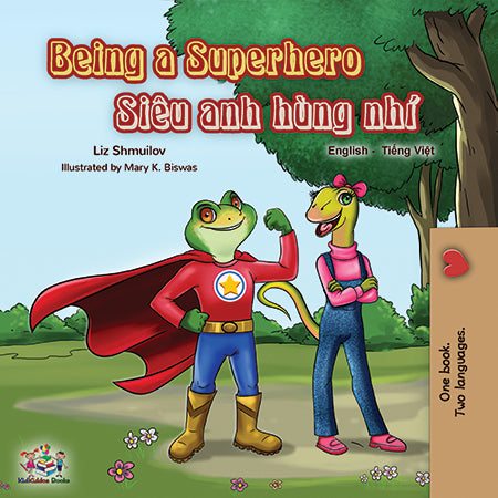 Vietnamese-English-bilingual-book-for-kids-Being-a-Superhero-cover