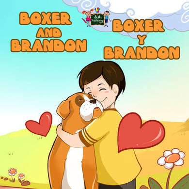 English-Spanish-Bilingual-children's-dogs-story-Boxer-and-Brandon-Nusinsky-cover