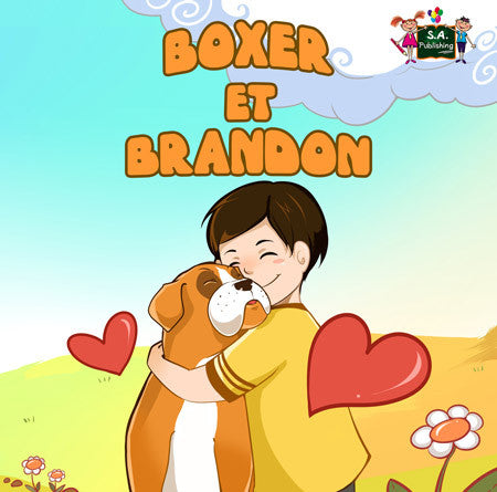French-language-children's-dogs-friendship-book-Boxer-and-Brandon-cover
