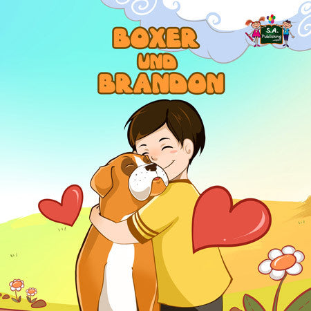 German-language-childrens-bedtime-story-KidKiddos-Books-Boxer-and-Brandon-cover