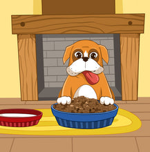 Chinese-Mandarin-Language-dogs-friendship-picture-book-for-kids-Boxer-and-Brandon-page1_2