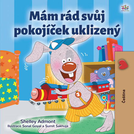 Czech-I-Love-to-Keep-My-Room-Clean-Bedtime-Story-for-kids-about-bunnies-cover