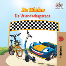 Dutch-children's-cars-picture-book-Wheels-The-Friendship-Race-cover