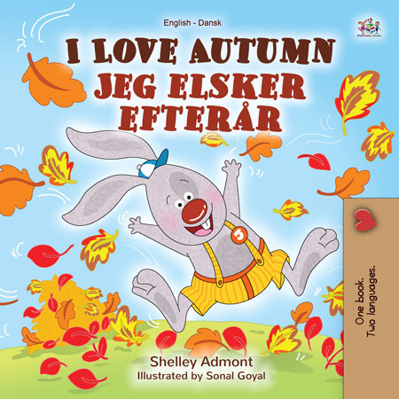 English-Danish-Bilingual-childrens-book-I-Love-Autumn-Cover