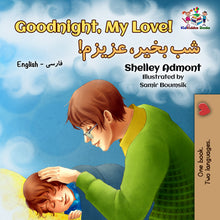 English-Farsi-Bilignual-children's-boys-book-Goodnight,-My-Love-cover
