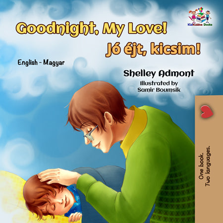 English-Hungarian-Bilignual-children's-book-Goodnight-My-Love-cover