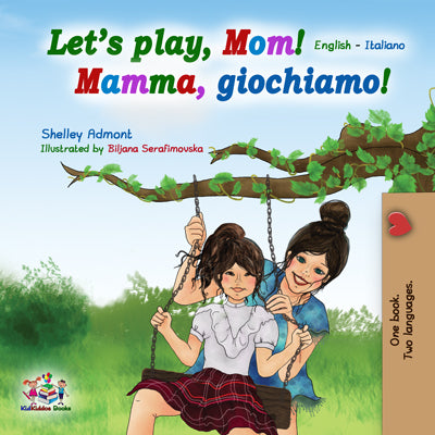 English-Italian-Bilingual-kids-book-lets-play-mom-cover