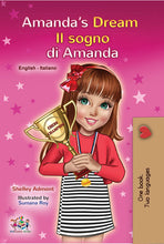 English-Italian-bilingual-childrens-book-Amandas-Dream-cover