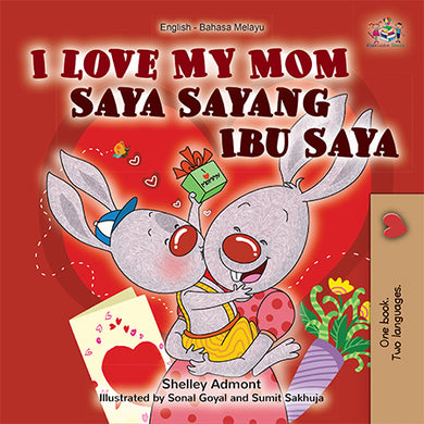 English-Malay-Bilingual-childrens-book-I-Love-My-Mom-cover