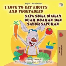 English-Malay-Bilingual-childrens-picture-book-I-Love-to-Eat-Fruits-and-Vegetables-KidKiddos-cover