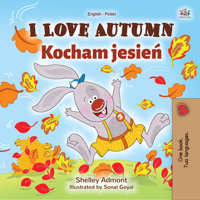 English-Polish-Bilingual-childrens-book-I-Love-Autumn-cover