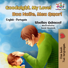 English-Portuguese-Bilignual-children's-boys-book-Goodnight,-My-Love-cover