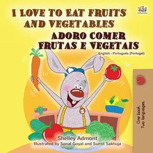 eBook: I Love to Eat Fruits and Vegetables (English Portuguese Portugal Bilingual Bedtime Story for Kids)