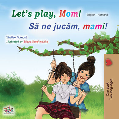 English-Romanian-Bilingual-kids-book-lets-play-mom-cover