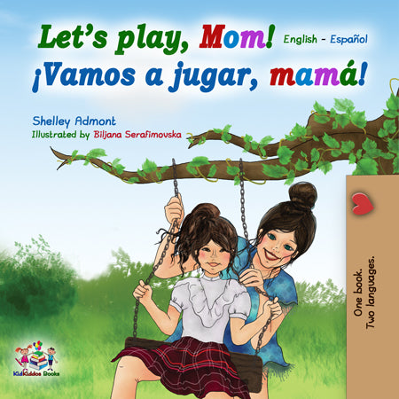 English-Spanish-Bilingual-kids-book-lets-play-mom-cover