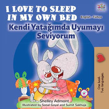 English-Turkish-Bilingual-Children's-bunnies-Story-I-Love-to-Sleep-in-My-Own-Bed-cover