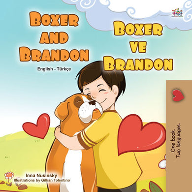 English-Turkish-Bilingual-bedtime-story-for-children-KidKiddos-Books-Boxer-and-Brandon-cover