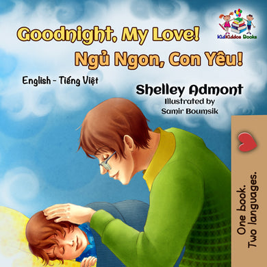 English-Vietnamese-Bilignual-children's-boys-book-Goodnight,-My-Love-cover