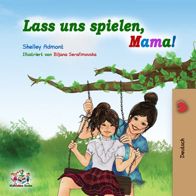 German-childrens-book-for-girls-Lets-Play-Mom-cover