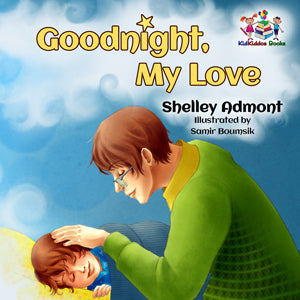 childrens-picture-book-by-Shelley-Admont-KidKiddos-english-language-Goodnight-my-love-cover