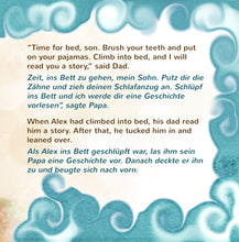 English-German-Bilignual-children's-boys-book-Goodnight,-My-Love-page2