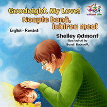 English-Romanian-Bilignual-baby-bedtime-story-Goodnight,-My-Love-cover