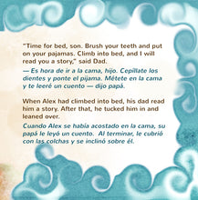English-Spanish-Bilignual-children's-boys-book-Goodnight,-My-Love-page1