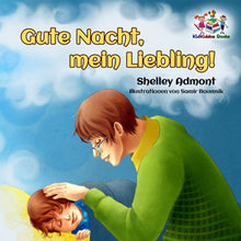 German-language-children's-picture-book-Goodnight,-My-Love-cover