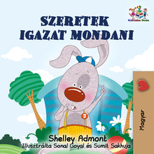 Hungarian-language-children's-bunnies-book-Admont-I-Love-to-Tell-the-Truth-cover