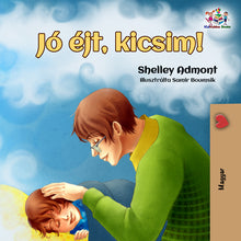 Hungarian-language-children's-picture-book-Goodnight,-My-Love-cover