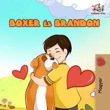 Hungarian-language-children's-picture-book-KidKiddos-Boxer-and-Brandon-cover